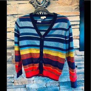Paul Smith Junior 🦓 Multicolor Button Up Cardigan